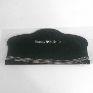 NWT Brandy Melville Silver Beaded Choker Necklace